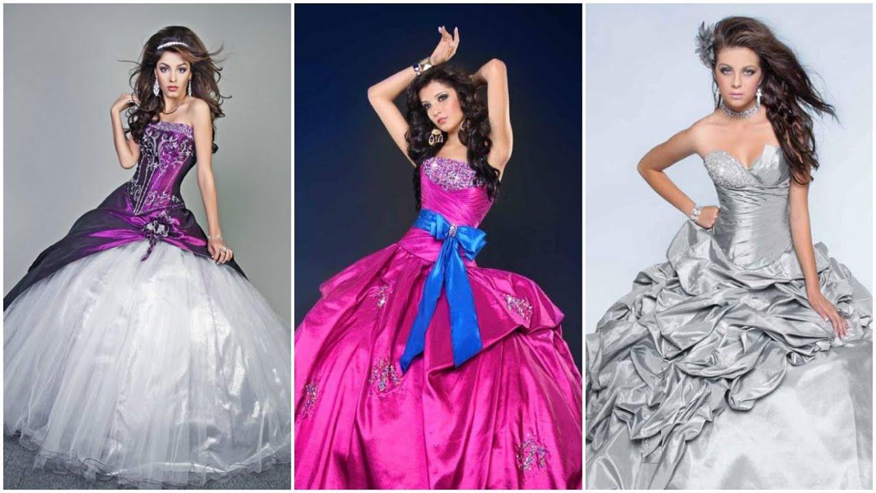 Peinados y vestidos de fiesta para 15 a os vestidos - Peinados de fiesta ...