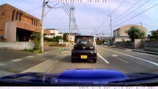 しまなみ海道 6 (来島海峡SAから休暇村瀬戸内東予まで) 2013 9 13