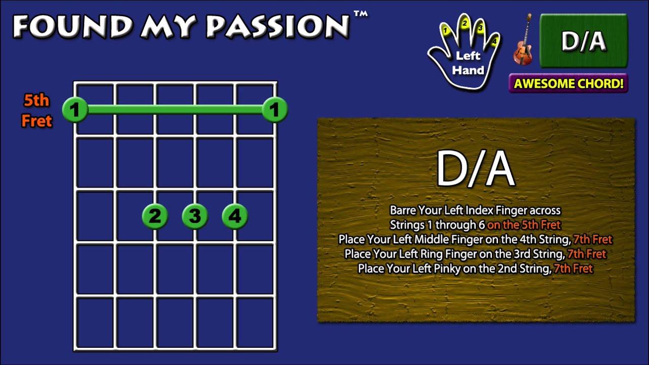 Awesome Sounding Guitar Chord Da 5 5 7 7 7 5 Youtube