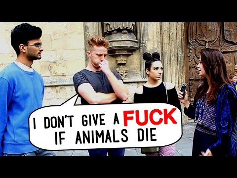 VEGAN DEBATES WITH MEAT EATERS ON THE STREET [Part 2]