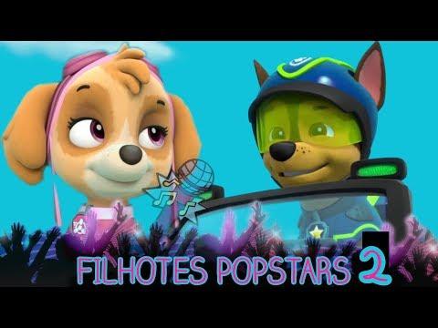Filhotes PopStars EP 2 | Patrulha Canina SÉRIES | Paw Patrol 🐾 Dublado em Português