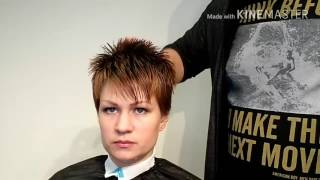Видеоурок 5 Короткая женская стрижка