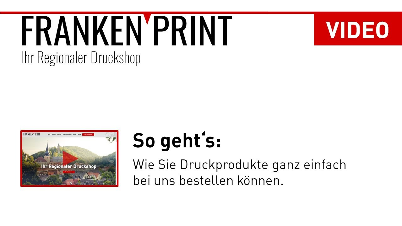 Frankenprint Ihr Regionaler Druckshop