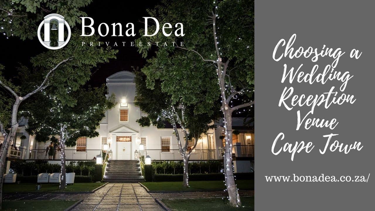 Choosing A Wedding Reception Venue Cape Town Bona Dea Private Estate