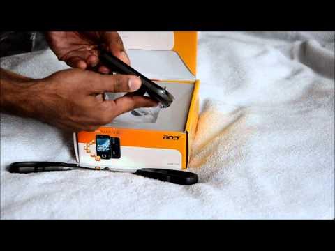 Acer beTouch E110.wmv