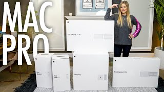 Mac Pro and Pro Display XDR 8K Unboxing!