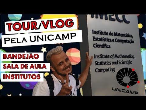 TOUR/VLOG - meu dia na UNICAMP
