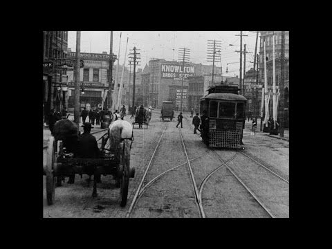 [Vancouver and Victoria Street and Harbour Scenes 1907]