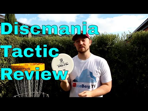 Discmania Exo Hard Tactic Review   Eagle McMahon Loves This Disc and I See Why!