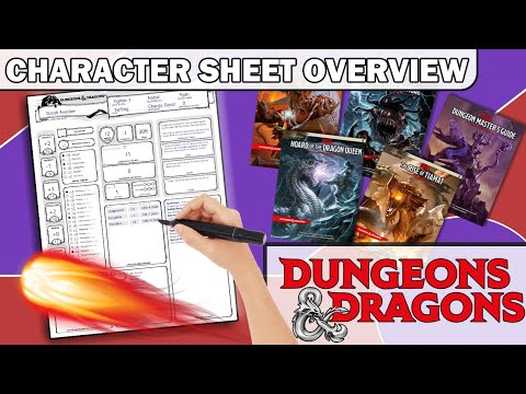 D&D Explained | Character Sheet Overview
