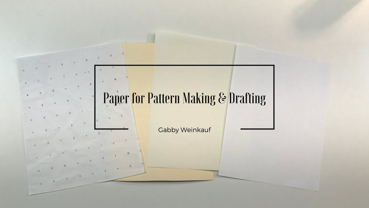 Paper for pattern making the option for it patterns blocks and paper for pattern making the option for it patterns blocks and more jeuxipadfo Image collections
