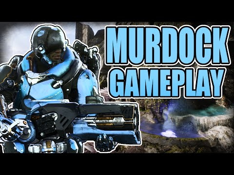 MURDOCK THE SNIPER - Gameplay + Guide - Paragon [Early Access]