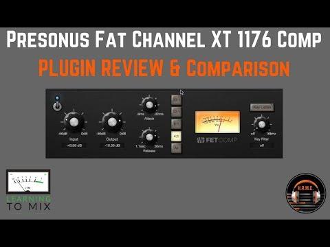 Presonus Studio One - Fat Channel XT - 1176 Compressor Plugin -  HomeRecordingMadeEasy com