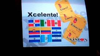 xcelente phone card spansih ad supercanal caribe