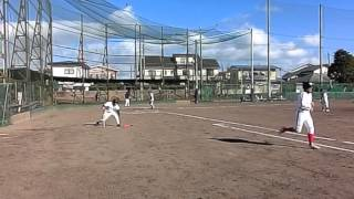 2013年 12月8日  黒磯高校野球部OB vs 那須環境
