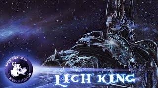 Drawing of Lich King (GFKStudio)