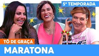MARATONE a SEGUNDA SEMANA de TÔ DE GRAÇA! | Tô De Graça | Humor Multishow