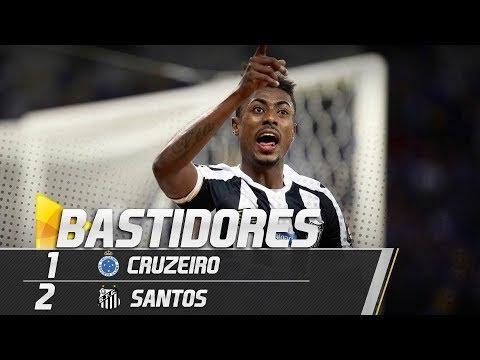 Cruzeiro 1 x 2 Santos | BASTIDORES | Copa do Brasil (15/08/18)