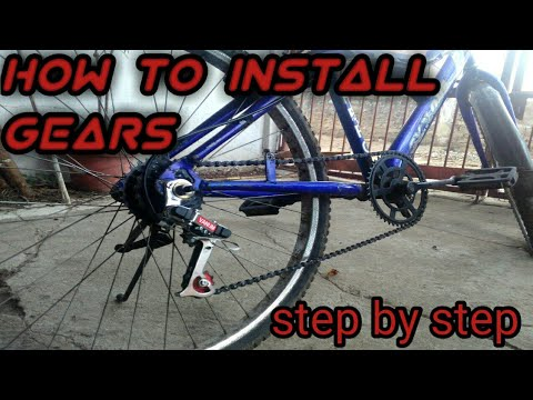 How to install gears in normal cycle