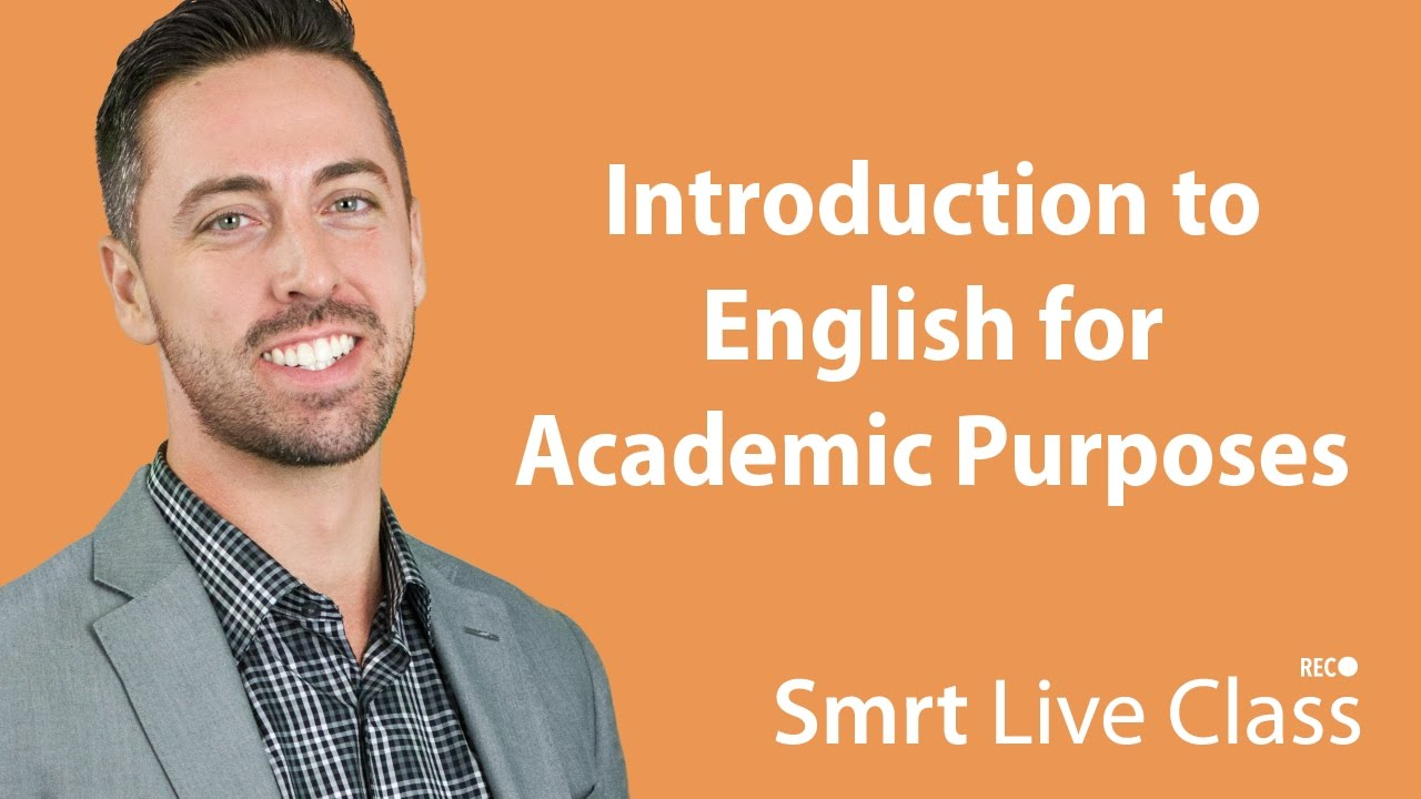 Introduction to English for Academic Purposes with Josh #29