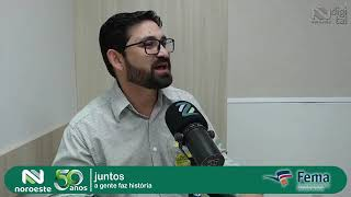 AVALIANDO A CULTURA DA CANOLA-ENTREVISTA DO PRESIDENTE A RÁDIO NOROESTE