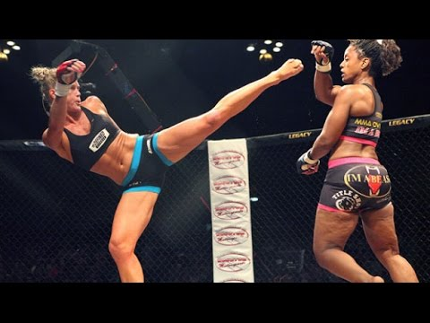 Holly Holm vs Allanna Jones. Awesome Women's MMA
