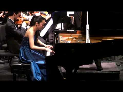 Tiffany Poon plays Rachmaninoff Rhapsody on a Theme of Paganini Var18
