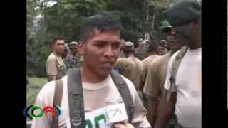 Destresas militares Ecuador Santo Domingo
