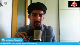 Karon Kaya Bayan Main کروں کیا بیاں  M Ussama N Kalam Mohtaram Doctor Waseem Ahmad Tahir Sahib.