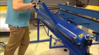 Листогиб KETTER ZG  гибка на 2 метра + отбортовка 8 мм(, 2014-02-19T08:25:43.000Z)