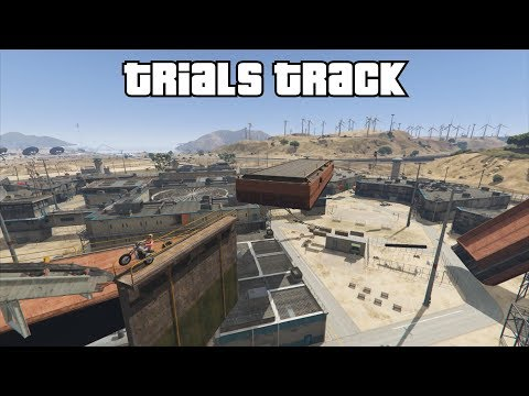 GTA 5 Online - Trials Track: Prison (Fun Modded Race)