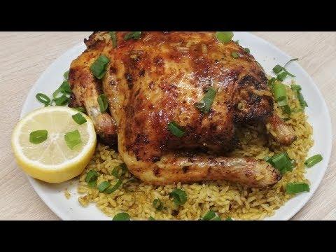 poulet-rÔti-au-riz-(-cuisine-rabinette-)