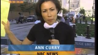 9/11 Sept 12 NBC Today Anne Curry Report From Ground Zero 1026 am