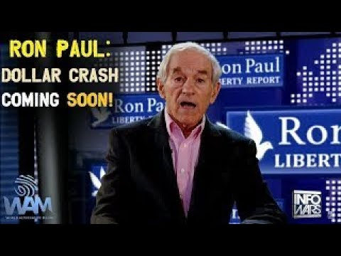 Ron Paul speaks out! Economic Collapse is Happening Now! US Dollar Collapse Protect Yourse