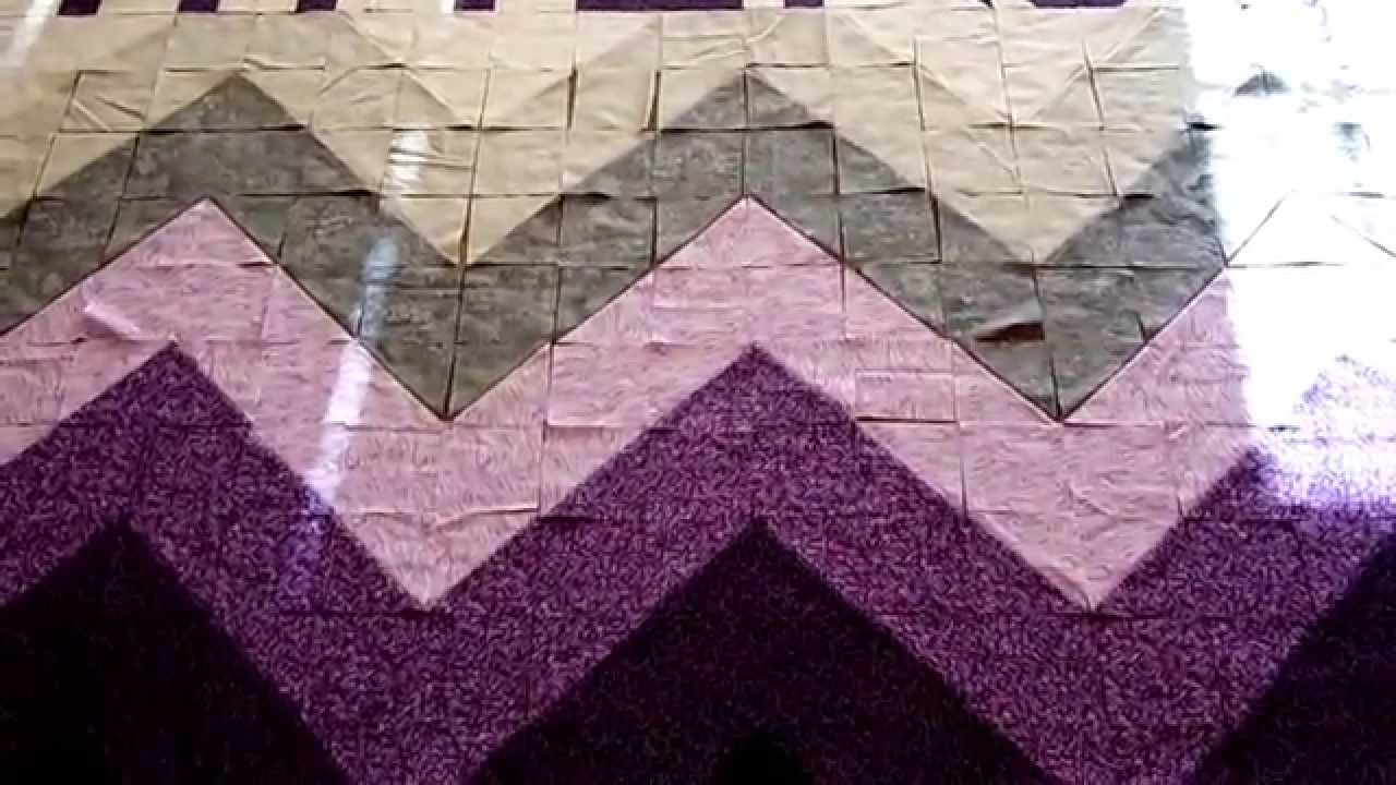 Quilting Made Easy: Ombre Chevron Quilt! - YouTube : rag quilting made easy - Adamdwight.com