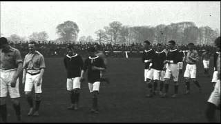 History of Football Matches 1906 - Wales - Ireland International.avi
