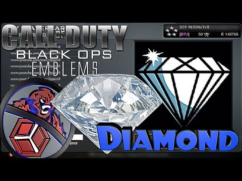 COD Black Ops - Diamond Emblem Tutorial