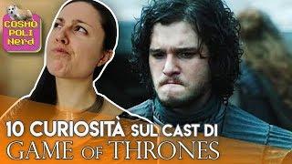 Game of Thrones: 10 curiosità imbarazzanti sul cast de Il Trono di Spade