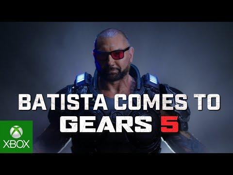 В Gears 5 сейчас можно получить бесплатно образ Дейва Батисты