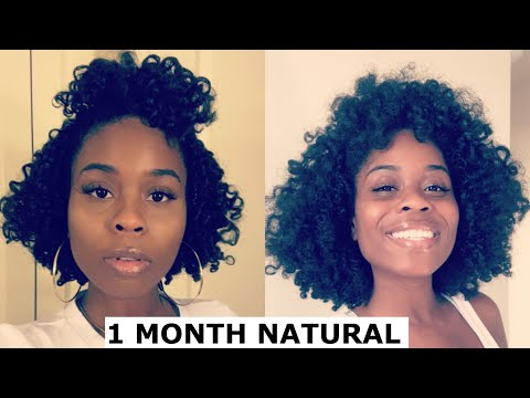 My Hair Type, Hair Growth, Products I Like! | 1st MONTH NATURAL *Chit Chat*