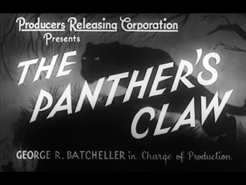 Crime Mystery Movie - The Panther's Claw (1942)