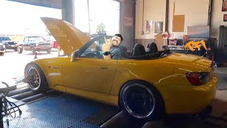 Dynojet vs Mustang Dyno with the HTS S2000