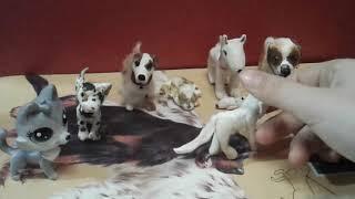 Мои самодельные собаки из полимерной глины 🐕🐶