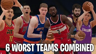 Can The 6 Worst NBA Teams Combined Win An NBA Championship? | NBA 2K19