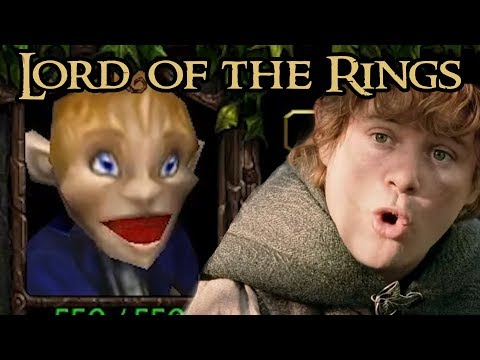 Warcraft 3: Literally the Lord of the Rings Trilogy