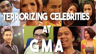 Surprising Artistas at GMA Network (Pabebe Girls, Kuya Germs, Moymoy Palaboy, Maria Sofia Love)