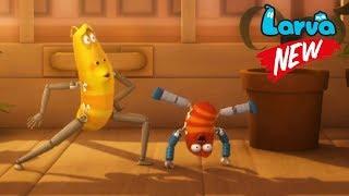 Larva 2018 Cartoon Full Movie | Episodes Speaker Dance - Limbs | Larva Terbaru New Season