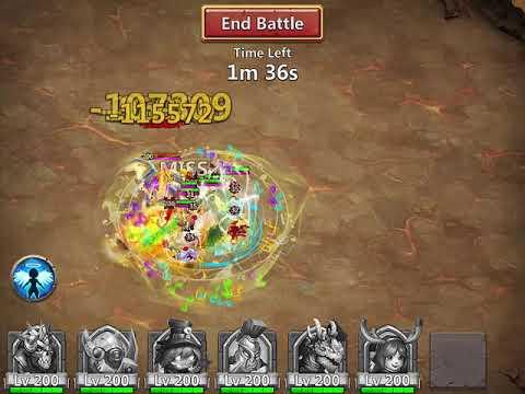 Castle Clash: Deflect Demon - My Final Run