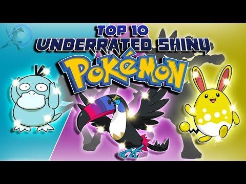 Top 10 Most Underrated Shiny Pokémon