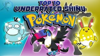 Top 10 Most Underrated Shiny Pokémon